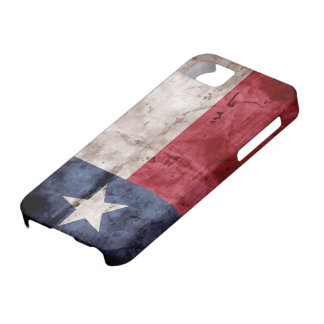 Weathered Texas Flag; iPhone 5 Cases
