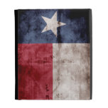 Weathered Texas Flag; iPad Folio Covers