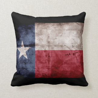 Weathered Texas Flag; Pillow