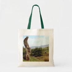 Weathered Tree In Uk Peak District Tote Bag at Zazzle