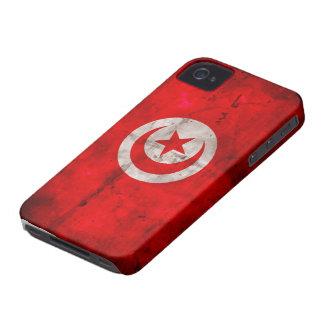 Weathered Tunisia Flag Case-Mate iPhone 4 Case