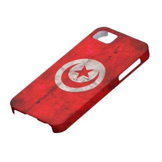 Weathered Tunisia Flag iPhone SE/5/5s Case