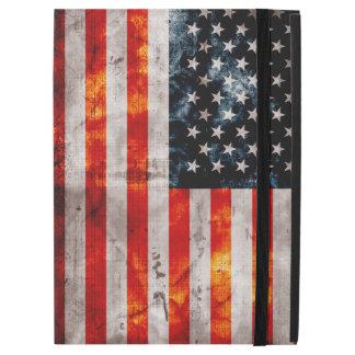 Weathered Vintage American Flag iPad Pro Case