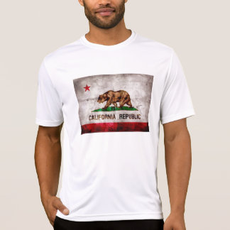 Weathered Vintage California State Flag T-Shirt