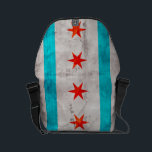 "Weathered Vintage Chicago State Flag Small Messenger Bag<br><div class=""desc"">Feel free to modify the design according to your own preferences. You may change the design location, orientation, background colors and size. Also, you may add your own text, or slogan set its font, location and size, all in order to create the ultimate personal gift for you and your loved...</div>"