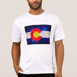 Weathered Vintage Colorado State Flag T-Shirt