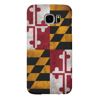 Weathered Vintage Maryland State Flag Samsung Galaxy S6 Case