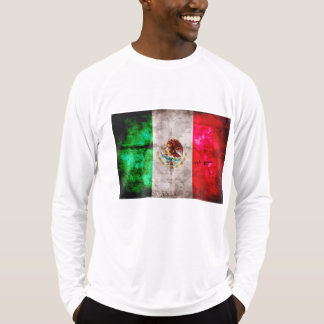 Weathered Vintage Mexico Flag T-Shirt