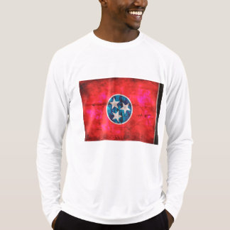 Weathered Vintage Tennessee State Flag T-Shirt