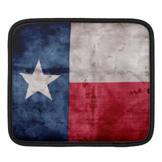 Weathered Vintage Texas State Flag iPad Sleeve