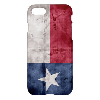 Weathered Vintage Texas State Flag iPhone 7 Case
