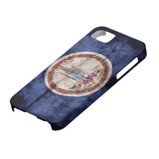 Weathered Virginia Flag iPhone SE/5/5s Case