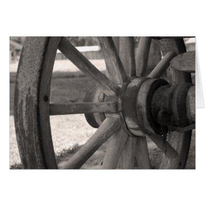 4 Mag Wheel Pull Wagon Old Farm Hand Silage Wagon