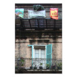 Weathered window - French Quarter Photo Print