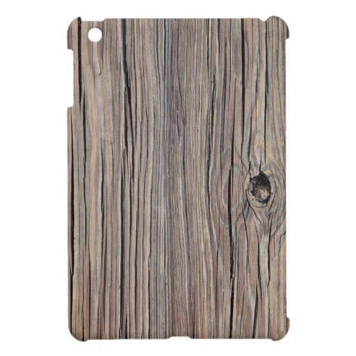 Weathered Wood Background - Customized Cover For The iPad Mini