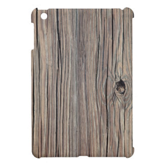 Weathered Wood Background - Customized iPad Mini Cover