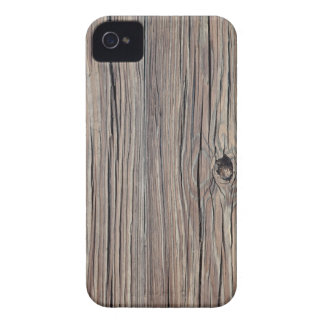 Weathered Wood Background - Customized iPhone 4 Case-Mate Case