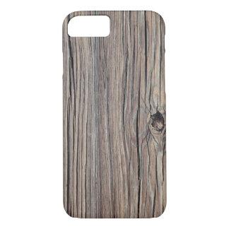 Weathered Wood Background - Customized iPhone 7 Case