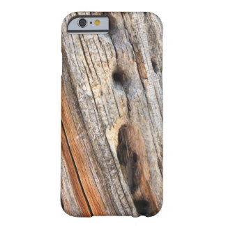 Weathered wood barely there iPhone 6 case