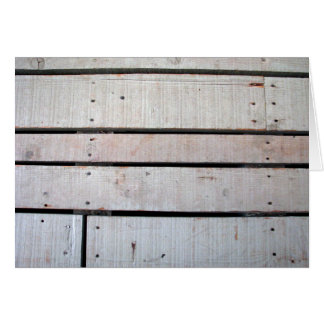 Weathered Wood Blank Note Card 3