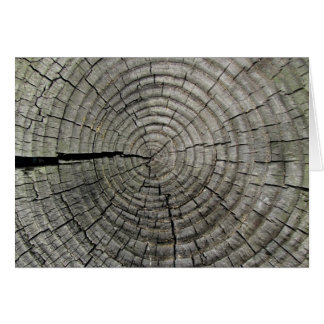 Weathered Wood Blank Note Card 6