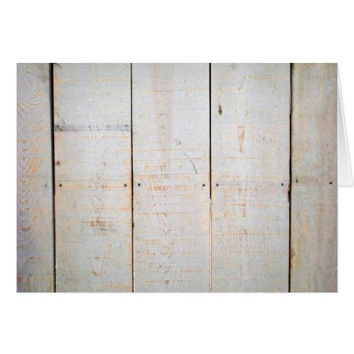 Weathered Wood Blank Note Card 7
