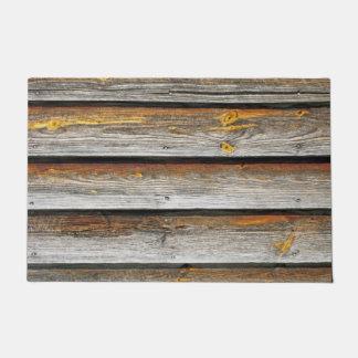 Weathered Wood Boards. Doormat