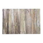 Weathered Wood Boards with Natural Rustic Patina Placemat<br><div class='desc'>Detailed photograph of weathered old boards on a dock.  Shows wood grain,  knots,  and aging in these beautiful boards that have been exposed to sun,  moisture and salt for many years. The patina of nature gives this wood a rustic appeal.</div>