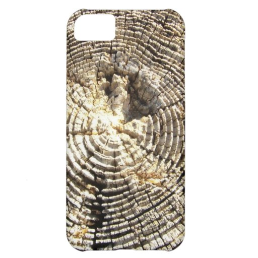 Weathered Wood Cover For iPhone 5C