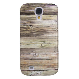Weathered Wood from Rustic Old Country Dock Samsung S4 Case