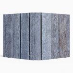 Weathered Wood Grain Plank Background Template 3 Ring Binders