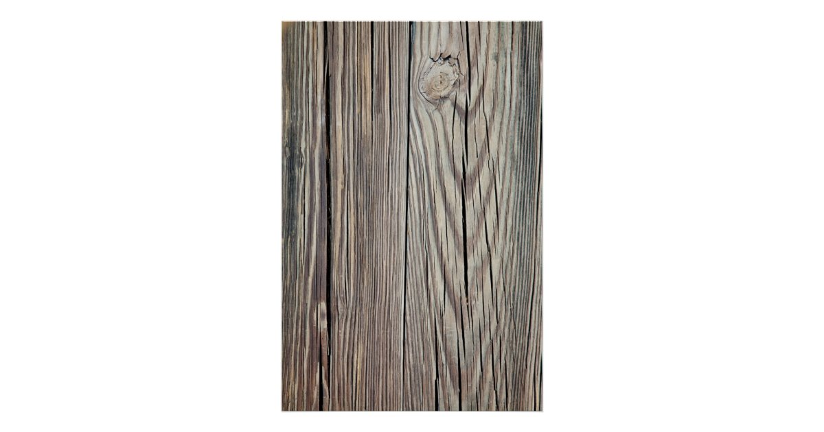 weathered wood grain plank background template poster