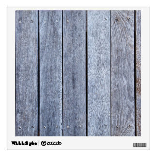 Weathered Wood Grain Plank Background Template Wall Decal