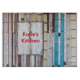 Weathered wood - Katie's Kitchen Cutting Board