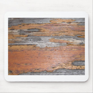 Weathered wood mouse pad
