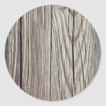 Weathered Wood Plank w Grain Background Template Stickers