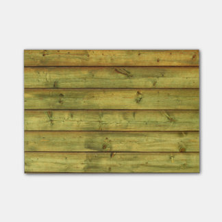 Weathered Wood Post-it Notes