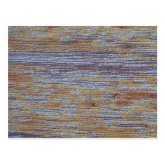 Weathered Wood Postcard