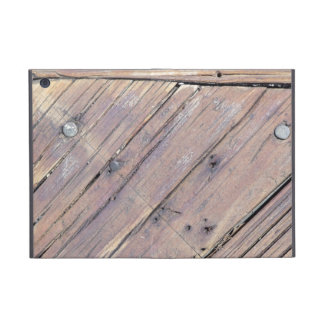Weathered Wood Rough Textured Deck Cases For iPad Mini