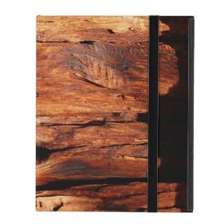 Weathered Wood Siding, iPad 2/3/4 Folio Case