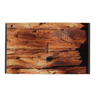 Weathered Wood Siding, iPad 2/3/4 Folio Case iPad Cases