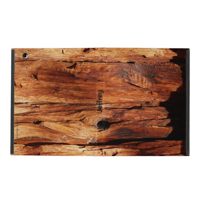 Weathered Wood Siding, iPad 2/3/4 Folio Case