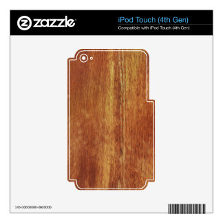 Weathered Wood Skin For iPod Touch 4G