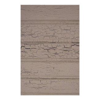 Weathered wood stationary stationery