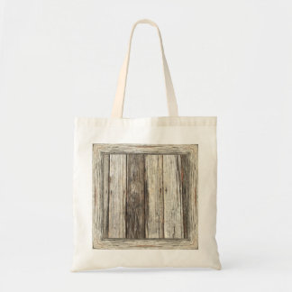 """Weathered Wood"" Tote Bag: Choose Size/Style"