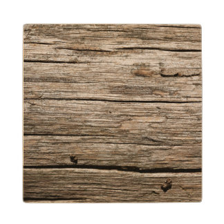 WEATHERED WOOD WOODEN COASTER