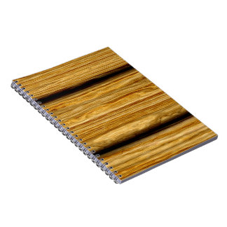 weathered wooden boards texture spiral notebook