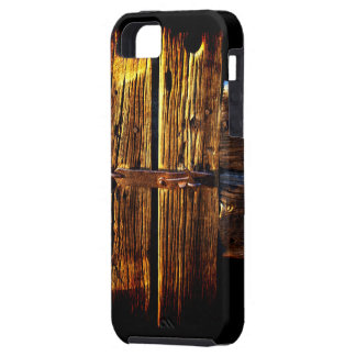 Weathered Wooden Door And Latch  Rustic Phone Case