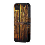 Weathered Wooden Door And Latch  Rustic Phone Case iPhone 4 Cases