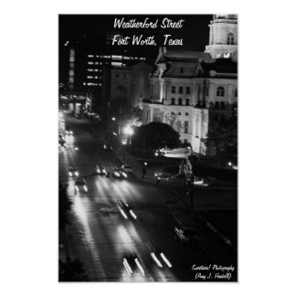 Weatherford Street Poster